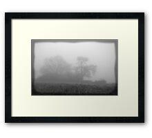 Fog on Roomer Common Framed Print