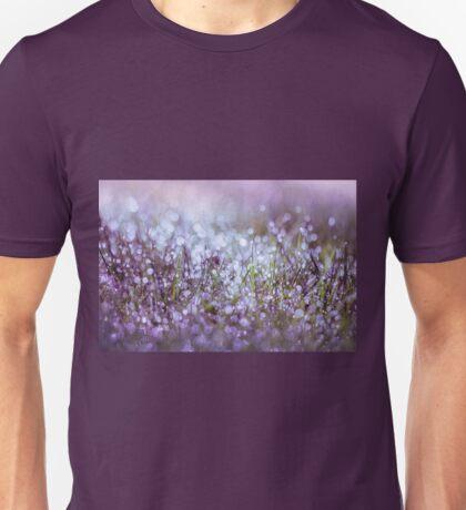Morning dew on grass Unisex T-Shirt