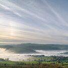 Mist Over Derbyshire by Steven  Lee
