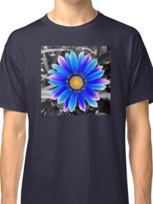 Blue & Yellow, Purple Haze Classic T-Shirt