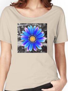 Blue & Yellow, Purple Haze Women's Relaxed Fit T-Shirt
