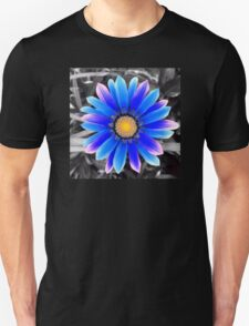 Blue & Yellow, Purple Haze Unisex T-Shirt