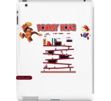 Donkey Kong Video Arcade Game Shirt iPad Case/Skin