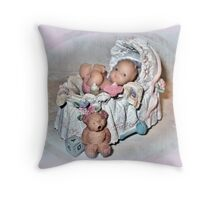 Welcome Baby Throw Pillow
