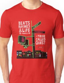 ATCQ TRIBE CALLED QUEST beats rhymes and life T-Shirt