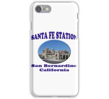 San Bernardino Train Depot iPhone Case/Skin