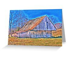 Barn of fall Greeting Card