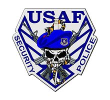 USAF Security Police by lawrencebaird