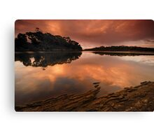 """River Reflections"" Canvas Print"
