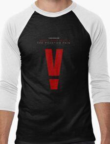 Metal Gear Solid V: The Phantom Pain logo Men's Baseball ¾ T-Shirt
