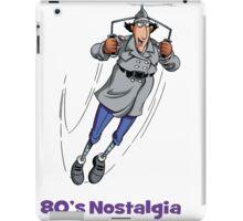 80's Nostalgia Cartoon Inspector Gadget T-Shirt iPad Case/Skin