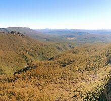 Devil's Gullet - Tasmania by Joshua Freeman