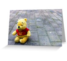 Pooh Bear Greeting Card