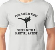Sleep With A Kickboxer Unisex T-Shirt