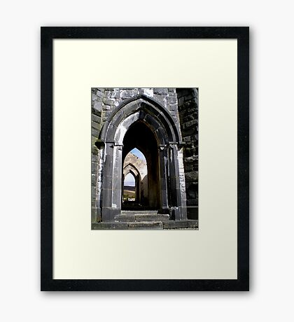 Thru the Arches Framed Print