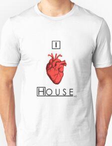 I Love House Unisex T-Shirt