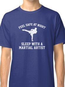 Sleep With A Martial Artist Classic T-Shirt