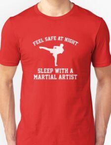Sleep With A Martial Artist Unisex T-Shirt