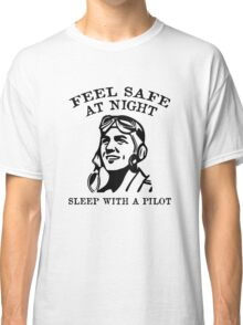 Sleep With A Pilot Classic T-Shirt