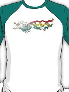 bunnyraincloud brings rainbows! T-Shirt