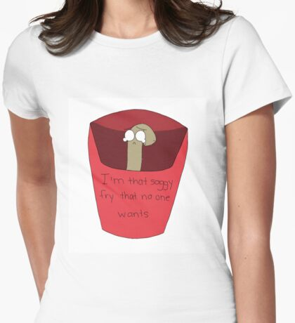 Relatable Fry Womens Fitted T-Shirt