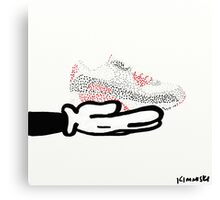 SNeaker Love Canvas Print