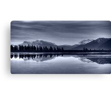Weightless BW Canvas Print