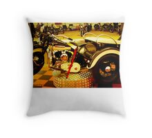 Harley Davidson  Vintage Throw Pillow