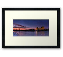 Once upon a time, in a land far, far away... Framed Print