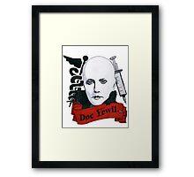 Doc Yewll Framed Print
