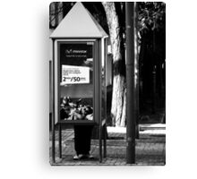 Mobile Phone....? ? ? Canvas Print