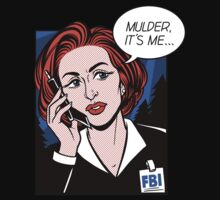 FBI Agent // Scully XFiles Lichtenstein  by amandaflagg
