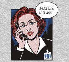 FBI Agent // Scully XFiles Lichtenstein  Baby Tee