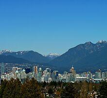 Vancouver Skyline by Lena127