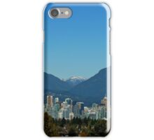 Vancouver Skyline iPhone Case/Skin
