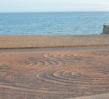 Circles In The Sand by Tanya Newman