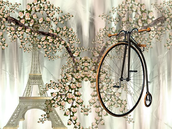Spring in Paris by Elaine  Manley
