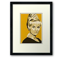 Janice Rand from Star Trek TOS (Stylized) Framed Print