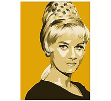 Janice Rand from Star Trek TOS (Stylized) Photographic Print