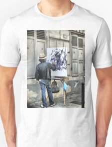 A Paintbrush in Montmartre T-Shirt