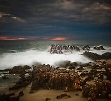 Lucy's Beach ~ Greenough by Pene Stevens
