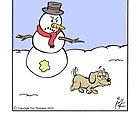 Snowman prank by Tim Thomson