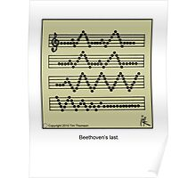 Beethoven's last Poster