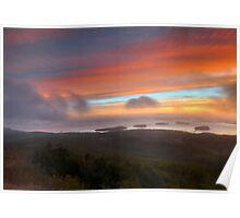 Sunrise From Cadillac Mountain 2 Poster
