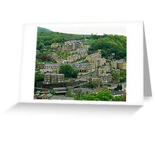 Hebden Bridge, W. Yorkshire, UK, 1980s Greeting Card