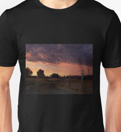 Wild weather out here in Oregon Unisex T-Shirt