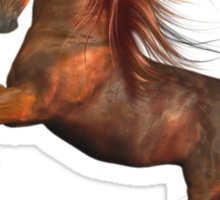 SunFire .. Wild Horse Sticker