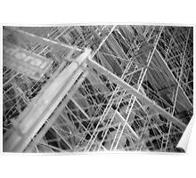 Scaffolding - City Hall - Philadelphia 2 Poster