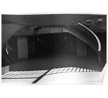 Spiral Stairs - City Hall - Philadelphia Poster