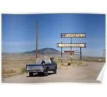 Rawlins, Wyoming - Grandma's Cafe Poster